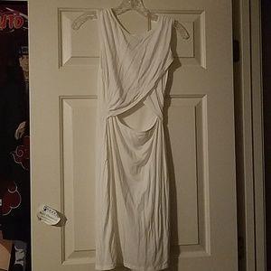 Charlotte Russe Open Belly Dress